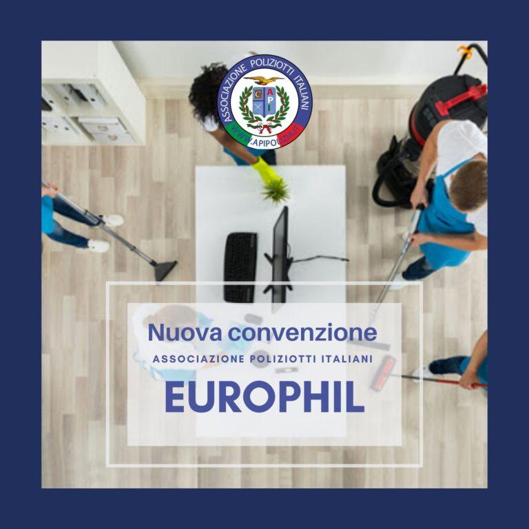 EUROPHIL: Convenzione API per impresa di pulizie e sanificazione