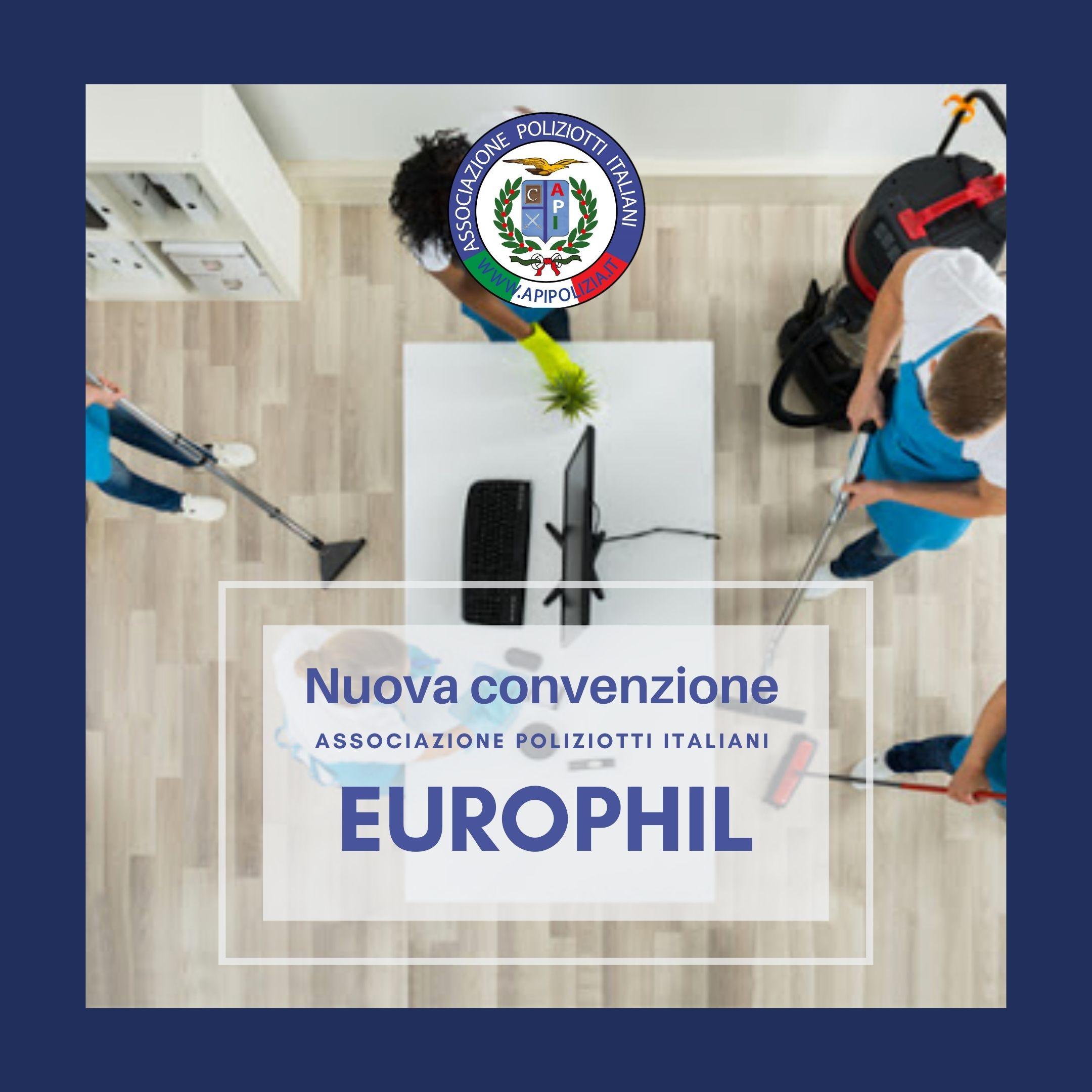 convenzione associazione poliziotti italiani impresa pulizie