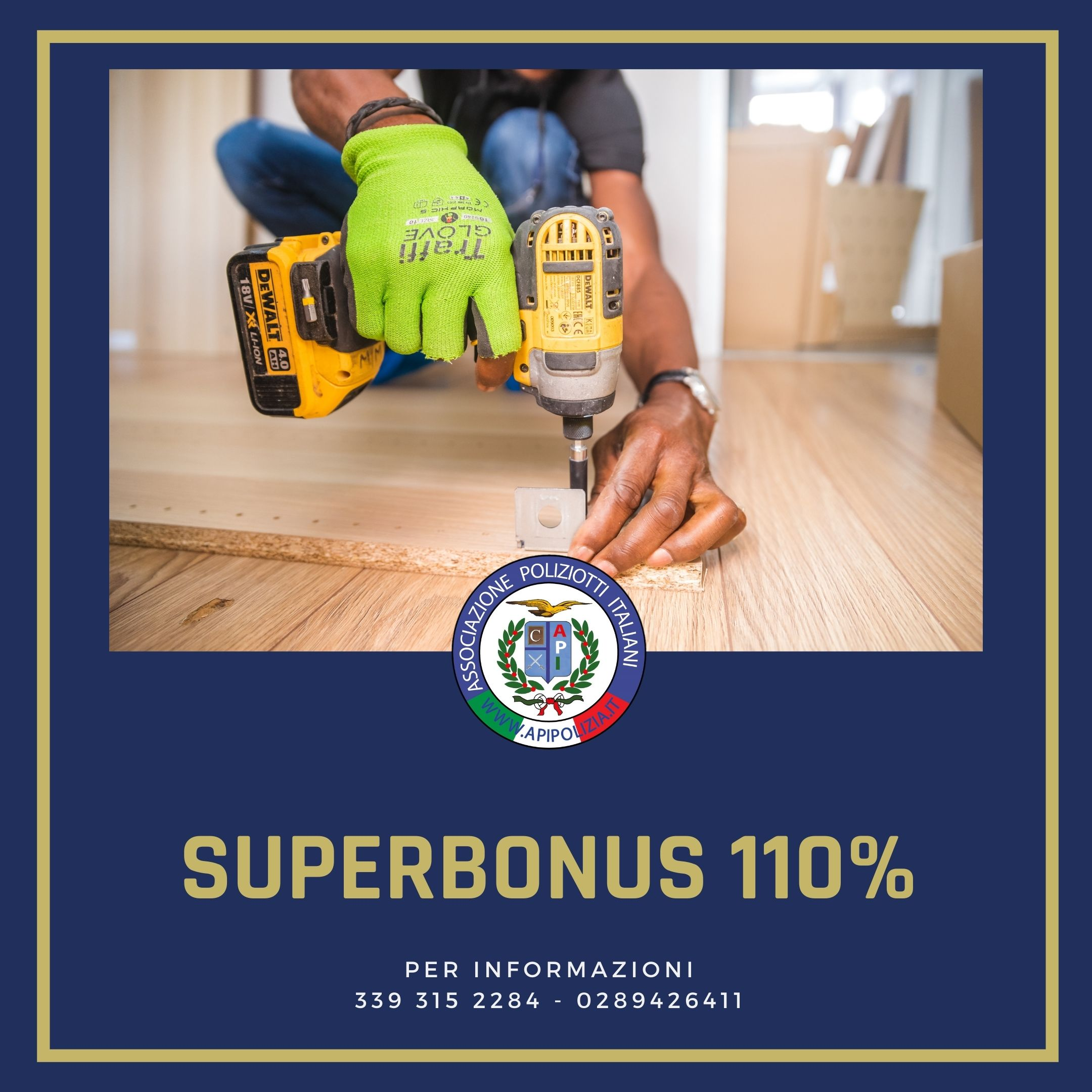 superbonus 110% caf api milano apipolizia