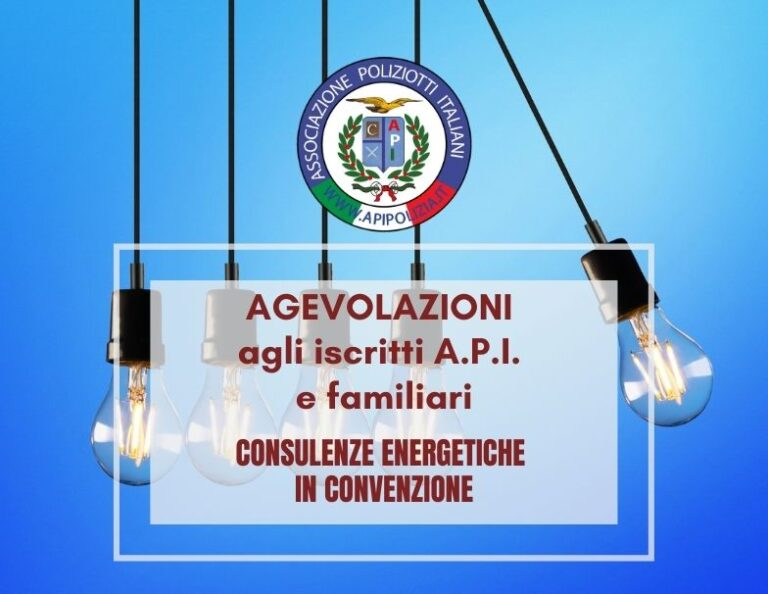Consulenze energetiche in convenzione
