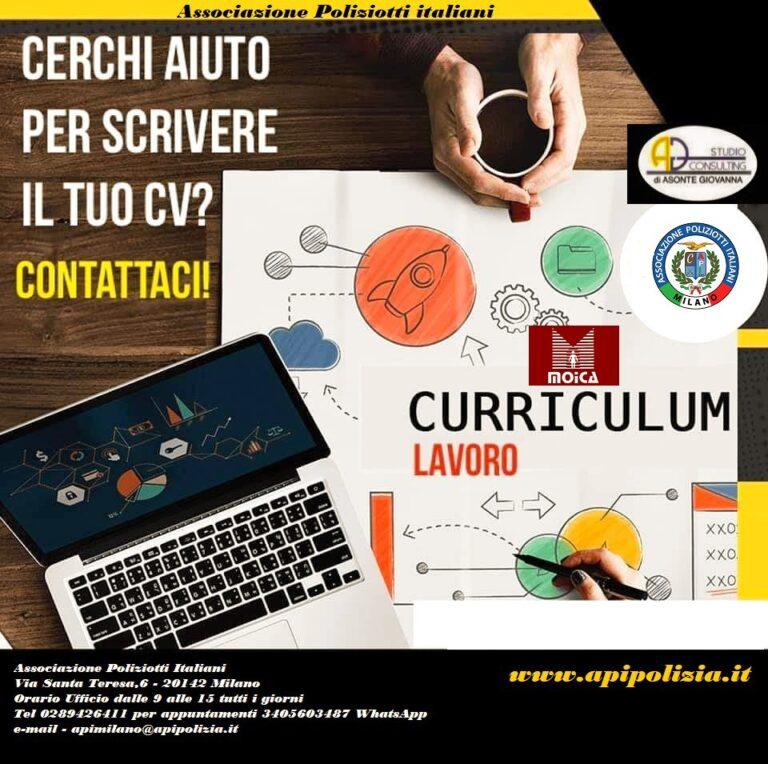 A.P.I. offre un servizio professionale di redazione Curriculum Vitae: