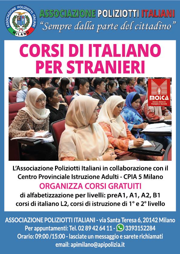 CORSI DI ITALIANO PER STRANIERI